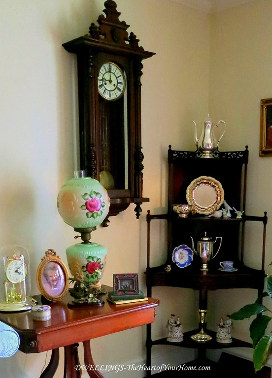 Antiques in the Living Room
