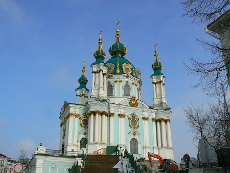 Biserici Kiev: biserica Sf. Andrei