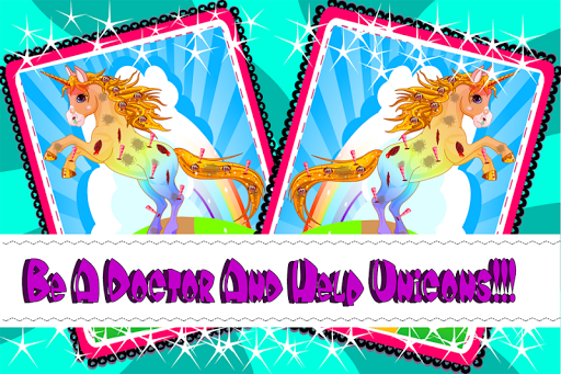 Unicorn Doctor Game For Kids