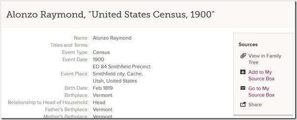 链接以查看附加记录的家谱中的人