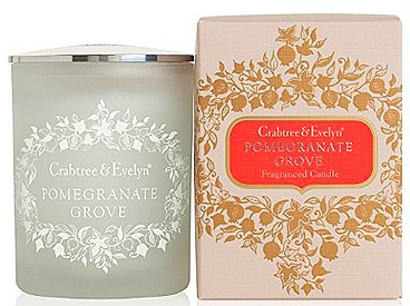 Crabtree & Evelyn Pomegranate Grove Fragranced Candle ($45)