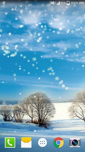 冬季聖誕雪景動態桌布 NO AD PRO