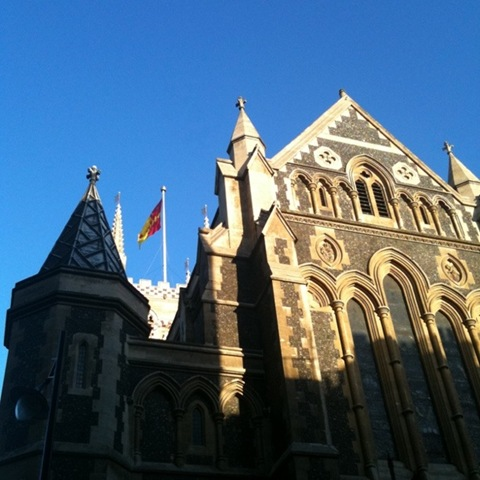 Southwark Cathedral - north western aspect