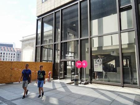 Muzeu Berlin: Intrarea la Muzeul Pergamon