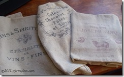 Rustic Kitchen Linens 2
