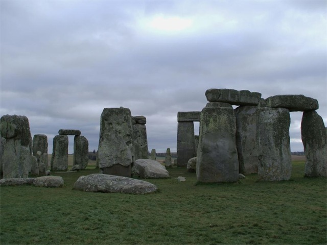 Stonehenge - the northern point