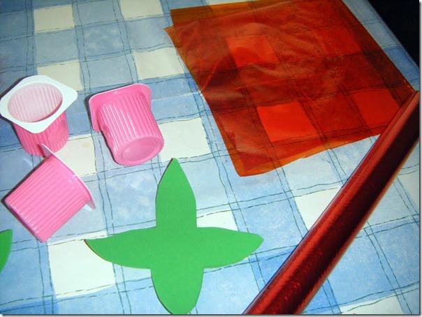 Manualidades Rosa Reciclados Para Sant Jordi Colorear Dibujos
