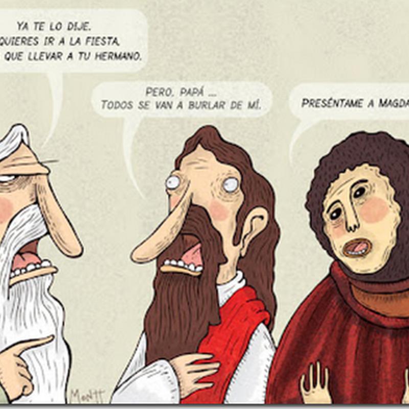 humor gráfico de Montt y el Ecce homo