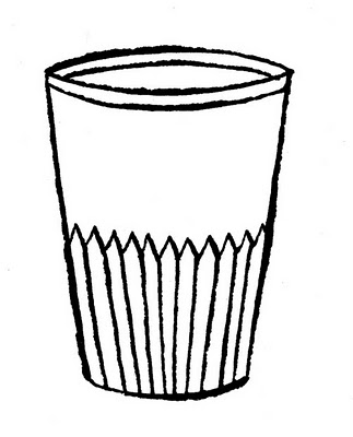 GLASS COLORING PAGES