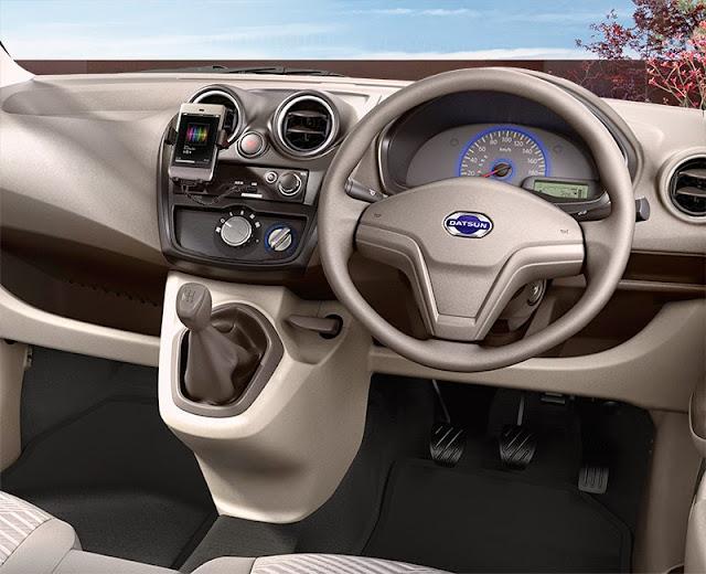 Dashboard Datsun Go+ Tipe T