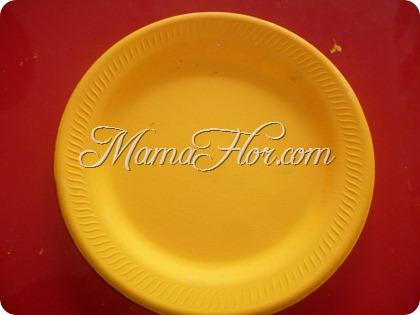 Decora tu Aula con platos descartables