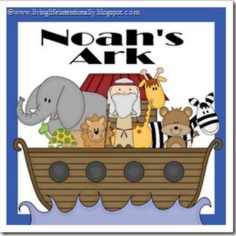 Free Noah's Ark Printable Preschool Lesson