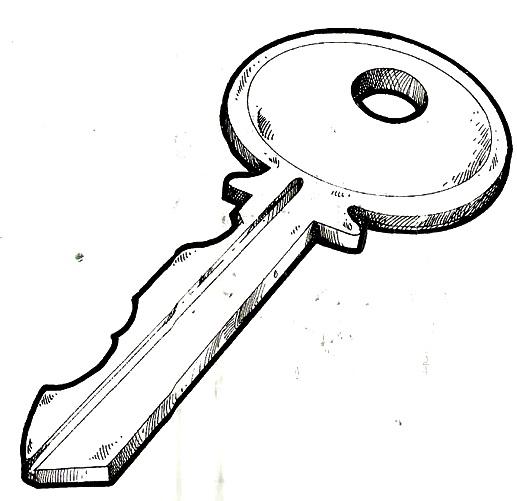 dibujos de llaves para colorear