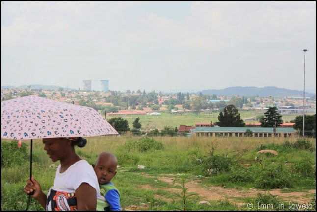A View from Orlando West to Orlando Towers