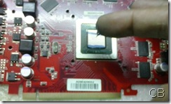 Putting thermal paste to the GPU will help to prevent overheat of the GPU