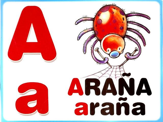 ABECEDARIO DE ANIMALES PARA IMPRIMIR