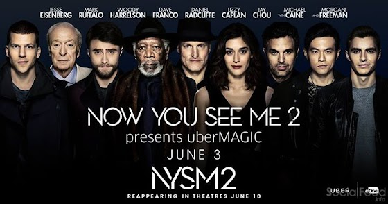uberMAGIC & Now You See Me 2