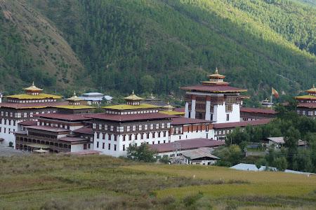 Sediul guvernului bhutanez