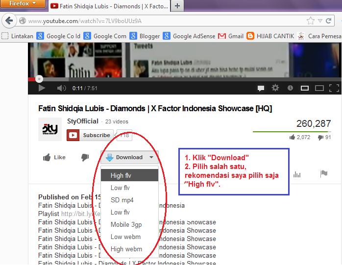 Cara download video youtube, ga sampai 5 menit | pricebook.