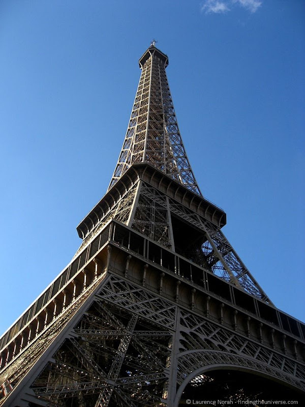 Eiffel Tower Paris Blue Sky