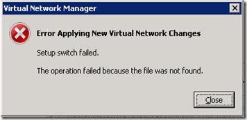 MPECS Inc  Blog: Hyper-V Server 2008 R2 SP1 – Error Applying
