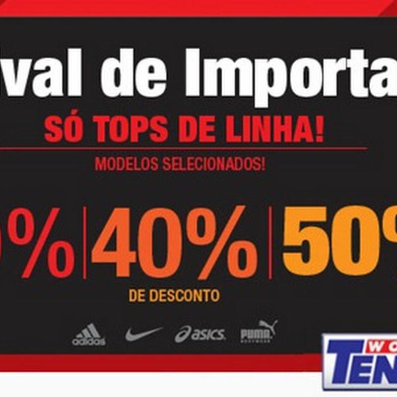 Promoção Festival de Importados na World Tennis com até 50% de desconto. 1896eaca85