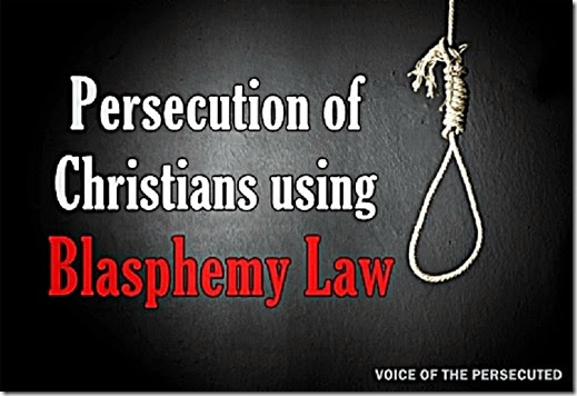 Christians Persecuted by Blasphemy Laws - noose