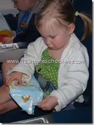 Flying with Kids - Inexpensive Presents