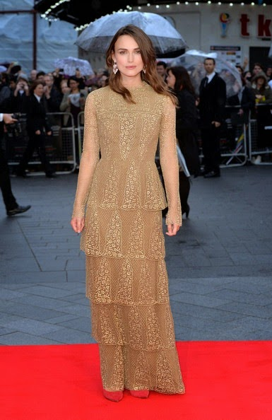 Keira Knightley Imitation Game Screening London