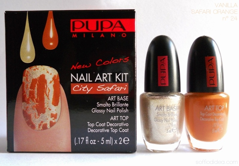 PUPA NAIL ART KIT safari 5