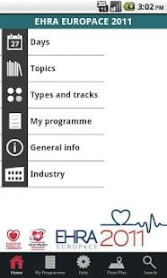 EHRA 2011 - screenshot thumbnail