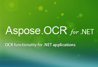 Aspose OCR for .NET Application