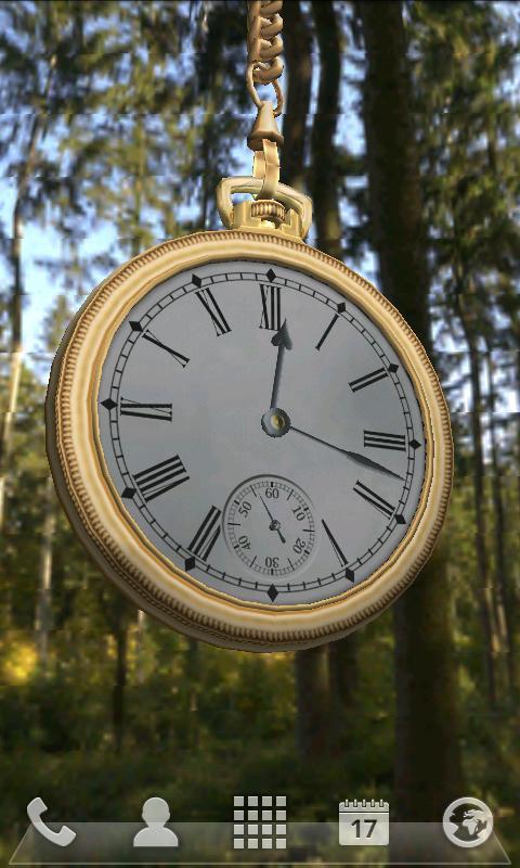 Clock Live Wallpaper 3D- screenshot