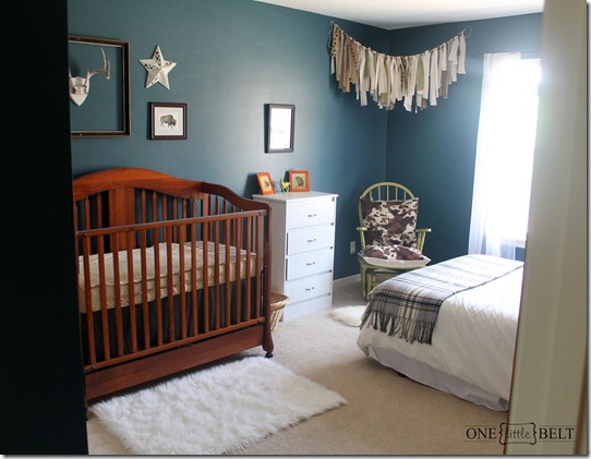Baby Boy S Western And Rustic Nusery Reveal One Little Momma