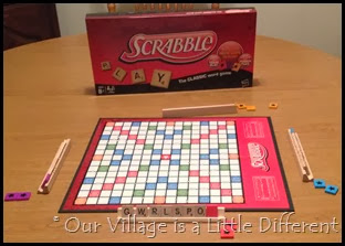 Scrabble Crossword Game with Power Tiles