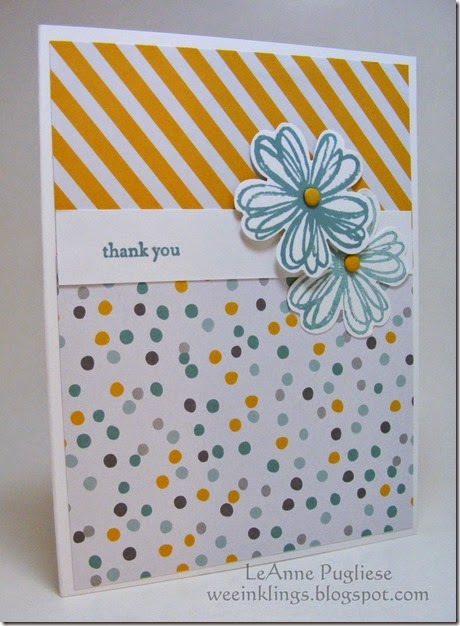 LeAnne Pugliese WeeInlings Flower Shop CAS Stampin Up