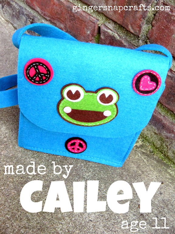 felt fashion Cailey's bag