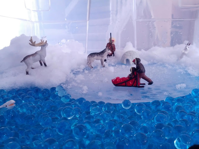 Preschool arctic small world play