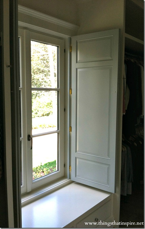 We Did Molding On The Front And Back Of Shutters As They Are Viewed From Both Sides Interior Have