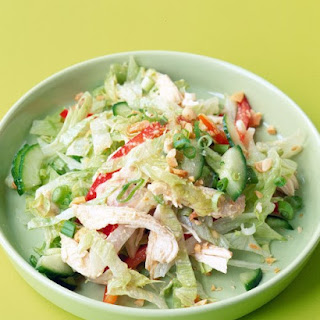 Shredded Chicken Salad.