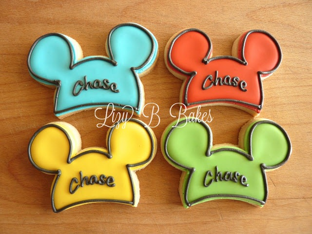mickey mouse ear cookies
