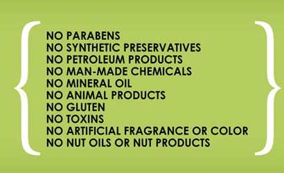 What should be in your skincare products