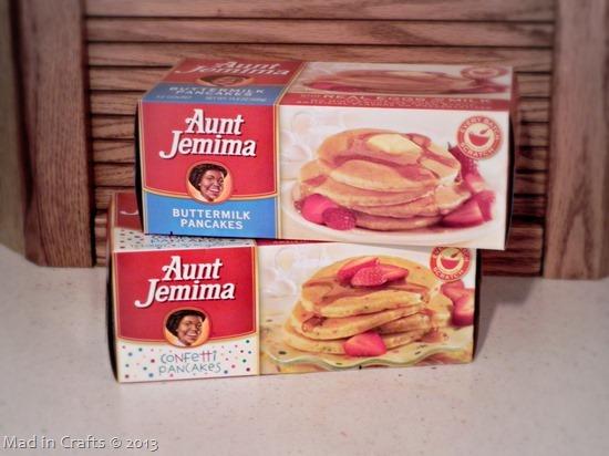 Aunt Jemima Frozen Pancakes