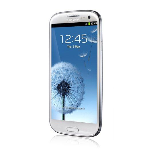 Samsung Galaxy S3 de perfil