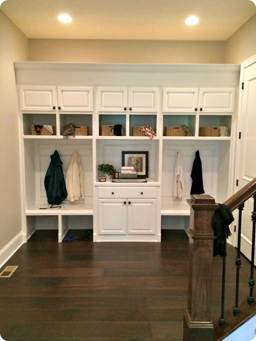 mud room built ins