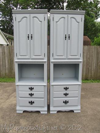 BlueGray Shelves