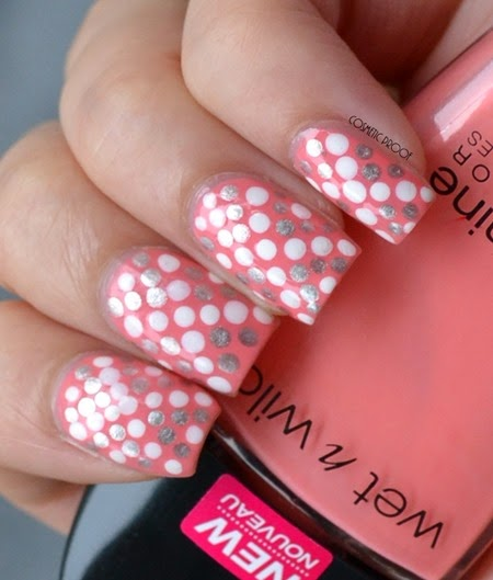 Wet n Wild - She Shells Dotted Nail Art Review