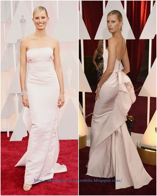 Karolina Kurkova attends the 87th Annual Academy Awards