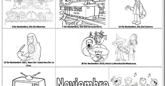 Dibujos Para Colorear 20 Noviembre Preescolar Dibujos Para Colorear