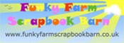 funky farm scrapbook barn logo